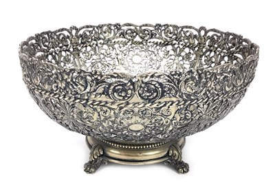 Lot 845-A CONTINENTAL SILVER BOWL