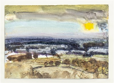 Lot 625-BEYOND KILLEARN, A MIXED MEDIA BY ALMA WOLFSON