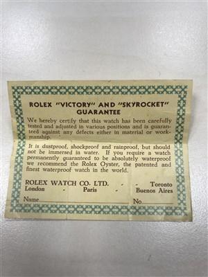 Lot 800-A LADY'S ROLEX STANDARD 1940s WATCH