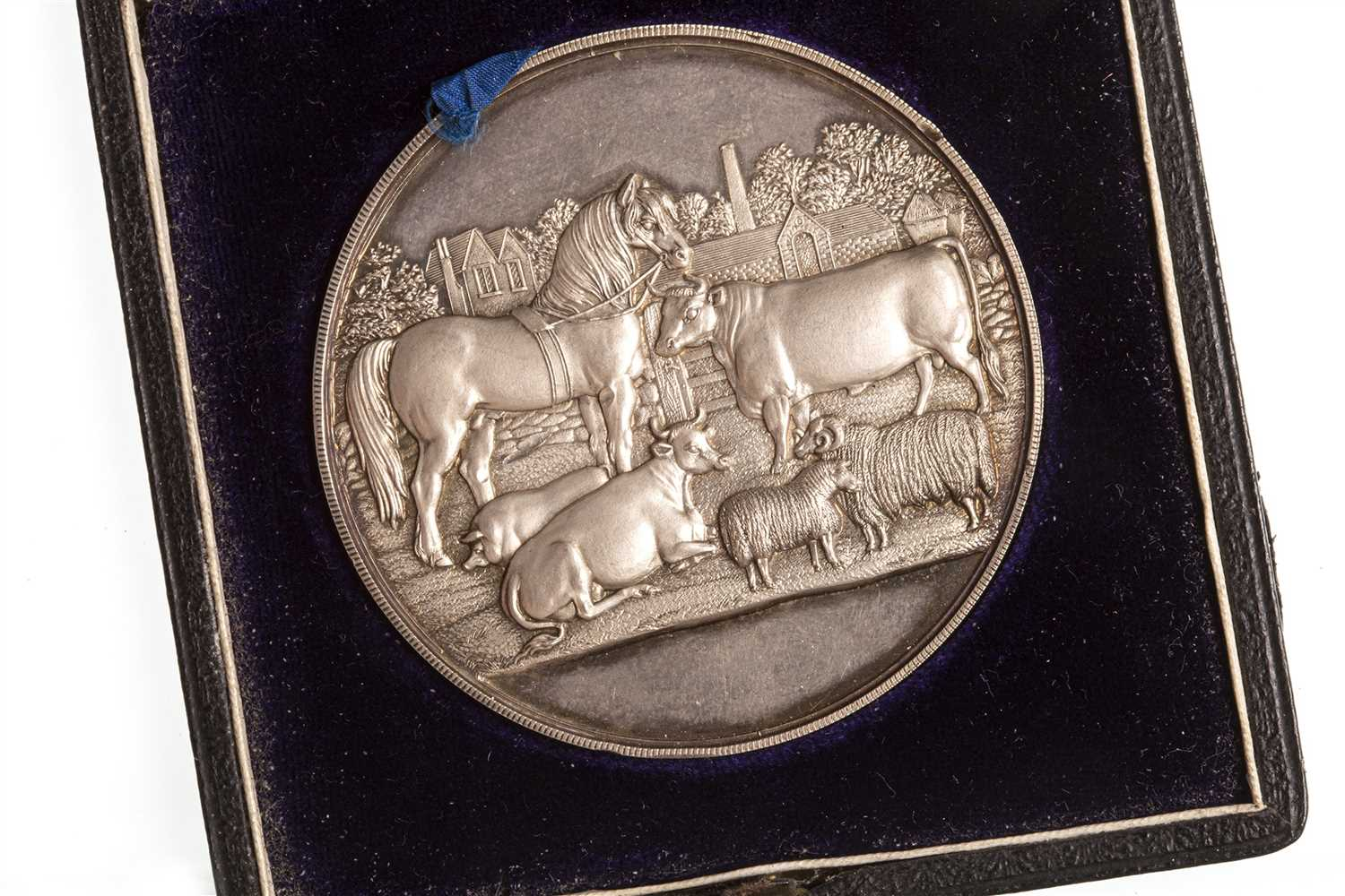Lot 1805-A VICTORIAN ANSTRUTHER AGRICULTURAL MEDAL