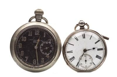 Lot 782-A MILITARY POCKET WATCH AND A POCKET WATCH