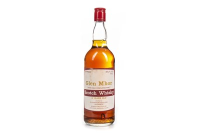 Lot 10-GLEN MHOR 8 YEARS OLD 26 2/3 FL.OZ