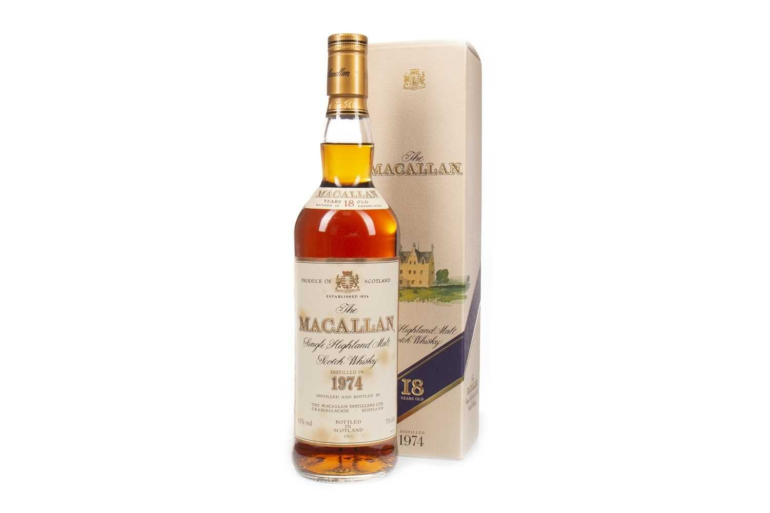 Lot 11-MACALLAN 1974 18 YEARS OLD