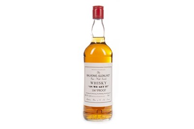 Lot 12-BALVENIE-GLENLIVET AS WE GET IT