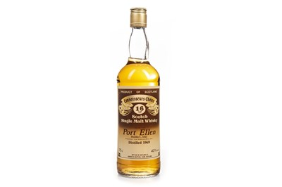 Lot 14-PORT ELLEN 1960 CONNOISSEURS CHOICE AGED 16 YEARS
