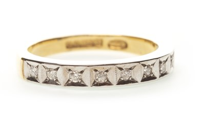 Lot 27-A DIAMOND SET BAND