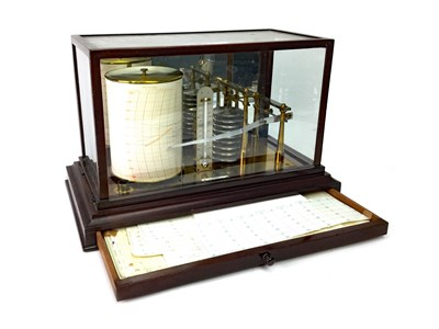 Lot 1405-A BAROGRAPH BY J. BROWN