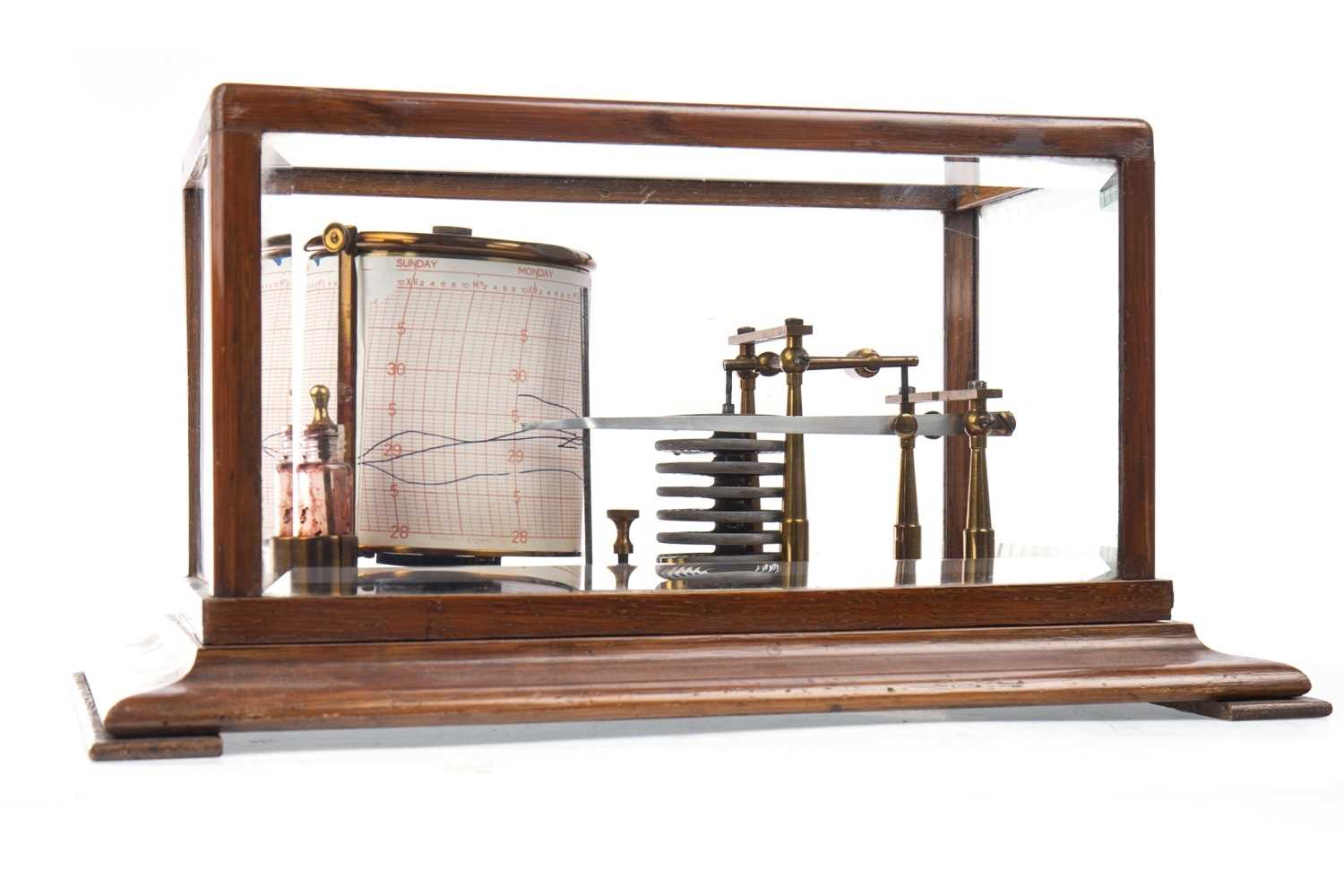 Lot 1406-A BAROGRAPH, RETAILED BY J. LIZARS