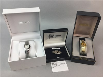 Lot 11-A LOT OF THREE LADY'S WATCHES, SILVER AND GOLD JEWELLERY