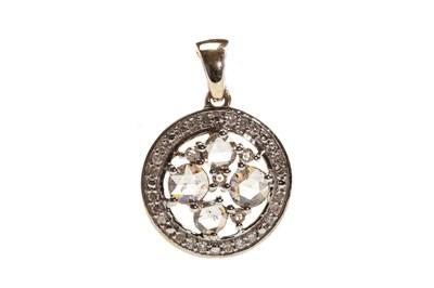 Lot 137-A DIAMOND SET PENDANT