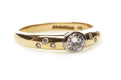 Lot 146-A DIAMOND SET RING