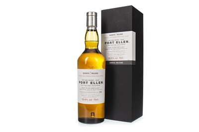 Lot 23A-PORT ELLEN 1979 7TH RELEASE AGED 28 YEARS