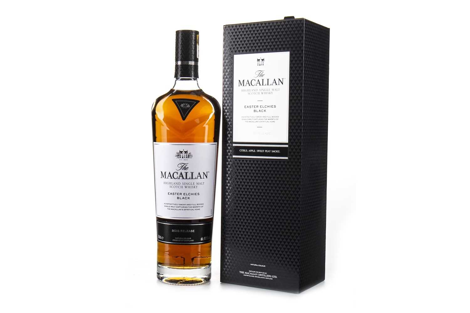 Lot 19-MACALLAN EASTER ELCHIES BLACK - 2018 RELEASE