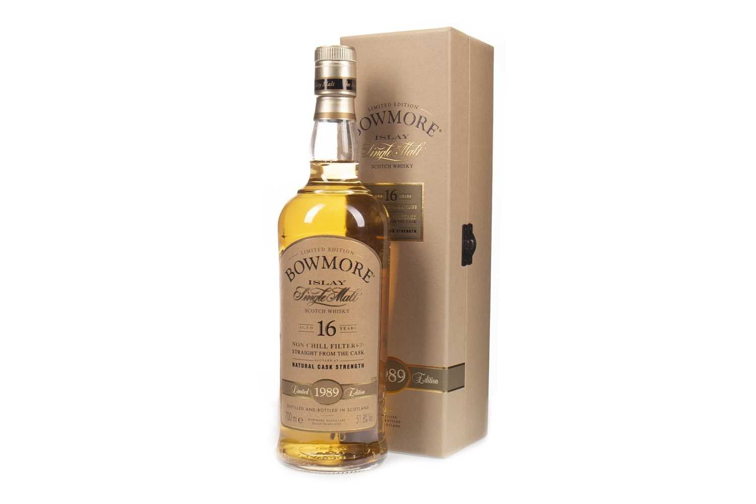 Lot 22-BOWMORE 1989 STRAIGHT FROM THE CASK AGED 16 YEARS