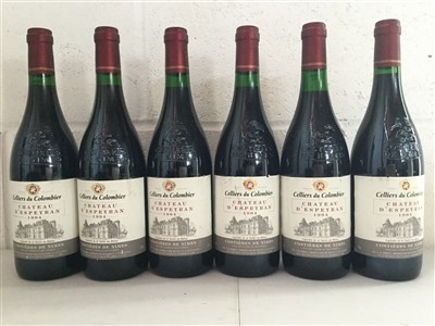 Lot 2022-SIX BOTTLES OF CHATEAU D'ESPEYRAN 1994