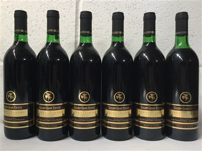 Lot 2029-SIX BOTTLES OF GOLDEN GRAPE ESTATE 1996 CABERNET SHIRAZ