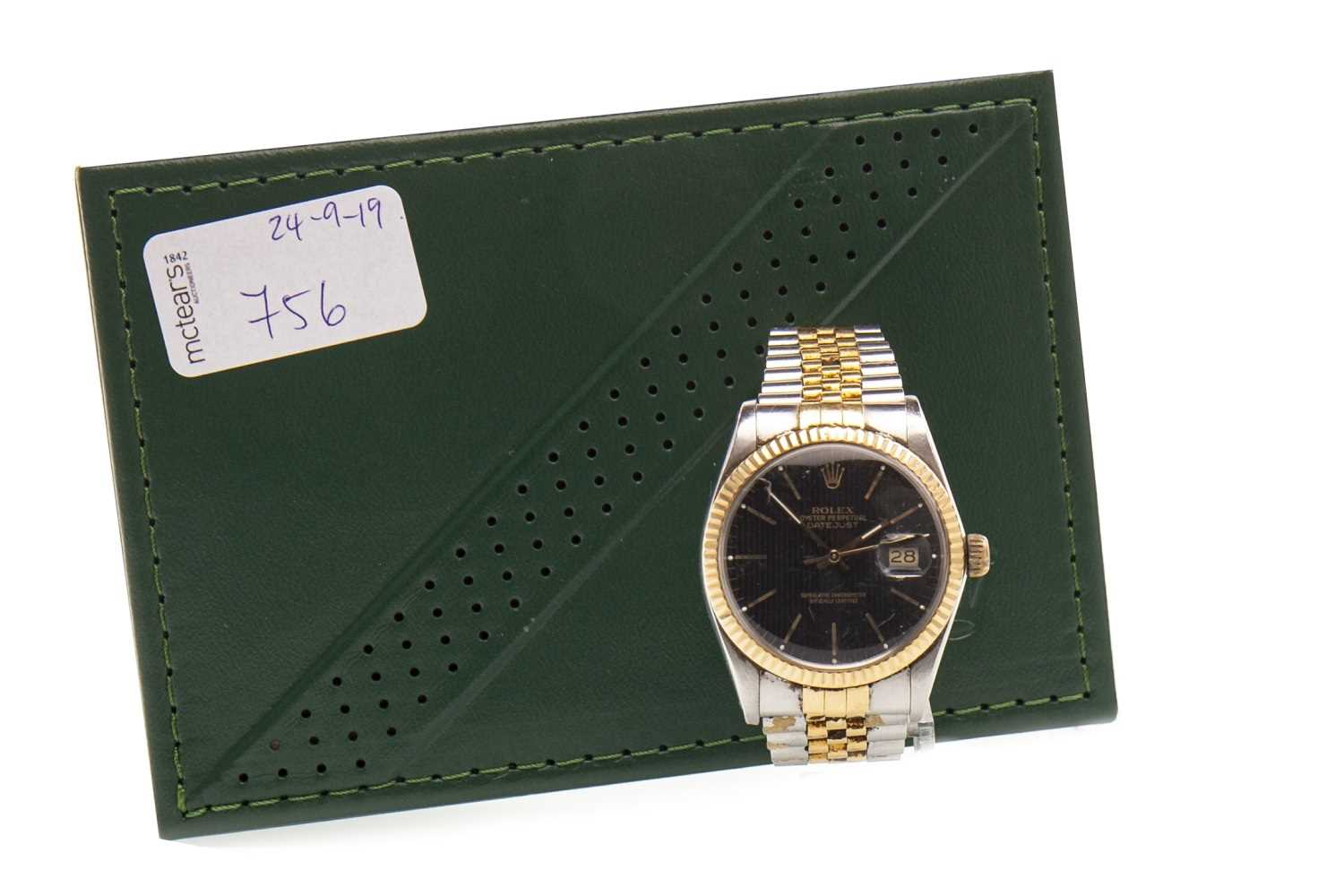 Lot 756-A GENTLEMAN'S ROLEX OYSTER PERPETUAL WATCH