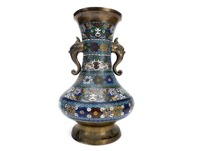 Lot 1041-A CHINESE CLOISONNE VASE