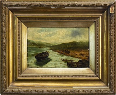 Lot 435-A PAIR OF OILS, DEPICTING SCOTTISH SCENES