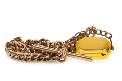 Lot 798-A GOLD ALBERT CHAIN