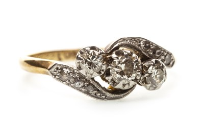 Lot 34-A DIAMOND DRESS RING