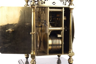 Lot 1411-A 17TH CENTURY AND LATER LANTERN CLOCK BY JEFFREY BAYLEY