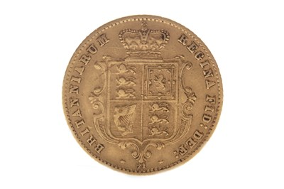 Lot 510-A GOLD HALF SOVEREIGN, 1866