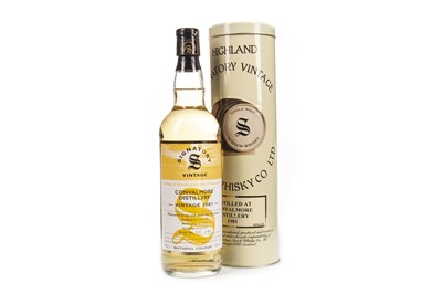 Lot 28-CONVALMORE 1981 SIGNATORY VINTAGE AGED 20 YEARS