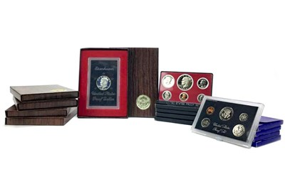 Lot 504-A COLLECTION OF USA COINS AND COIN SETS