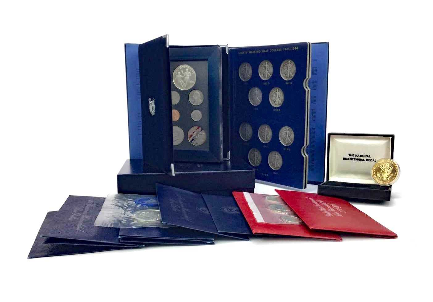Lot 509 - A COLLECTION OF USA COINS AND COIN SETS