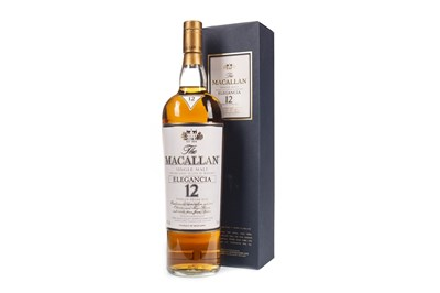 Lot 37-MACALLAN ELEGANCIA 12 YEARS OLD - ONE LITRE