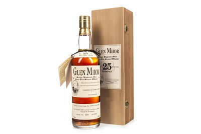 Lot 39-GLEN MHOR 25 YEARS OLD