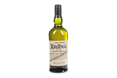 Lot 40-ARDBEG VERY YOUNG COMMITTEE RESERVE