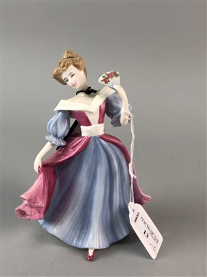 Lot 13-A LOT OF SIX ROYAL DOULTON FIGURES