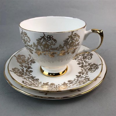 Lot 8-A GAINSBOROUGH BONE CHINA TEA SERVICE