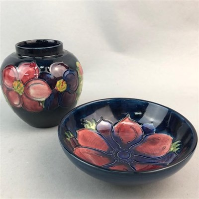 Lot 4-A MOORCROFT VASE AND BOWL