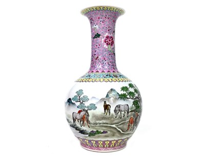 Lot 1040-A 20TH CENTURY CHINESE REPUBLIC STYLE VASE