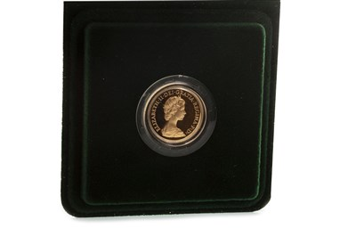 Lot 512-A GOLD PROOF SOVEREIGN, 1980