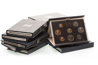 Lot 514-ROYAL MINT ANNUAL PROOF COINAGE SETS