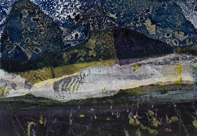 Lot 612-SOUTH UIST II, A MIXED MEDIA BY CHRISTOPHER BYRNE