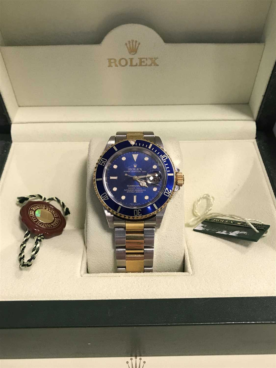 Lot 758-A GENTLEMAN'S ROLEX SUBMARINER STAINLESS STEEL WATCH