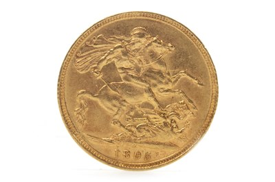 Lot 517-A GOLD SOVEREIGN, 1895