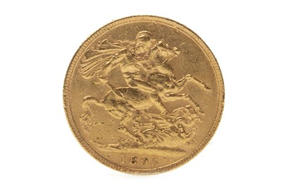 Lot 522-A GOLD SOVEREIGN, 1895