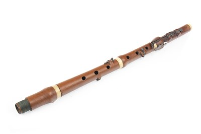 Lot 1413-AN EARLY 19TH CENTURY FLUTE BY ASTOR HORWOOD