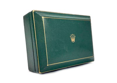 Lot 760-A ROLEX COFFIN BOX 1950S