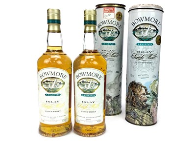 Lot 301-TWO BOTTLES OF BOWMORE LEGEND