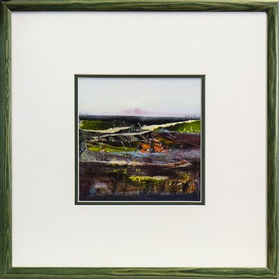 Lot 624-SETTING SUN, A MIXED MEDIA BY MAY BYRNE