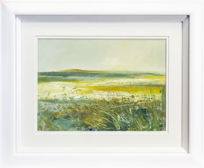Lot 537-SOLITUDE, A MIXED MEDIA BY MAY BYRNE