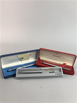 Lot 19-A COLLECTION OF PARKER AND OTHER PENS