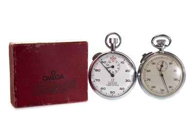 Lot 801-OMEGA STOP WATCH AND ANOTHER